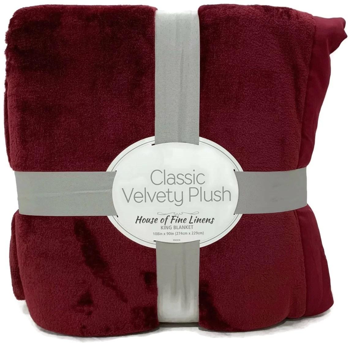 berkshire bedding classic velvety plush