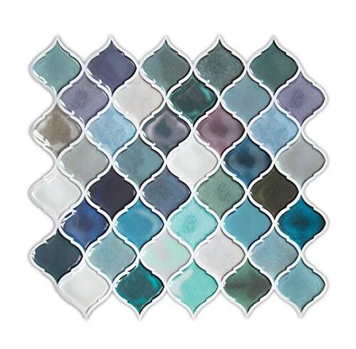 turquoise peel and stick tile backsplash for kitchen decorative vinyl backsplash peel and stick for rental house stick on b
