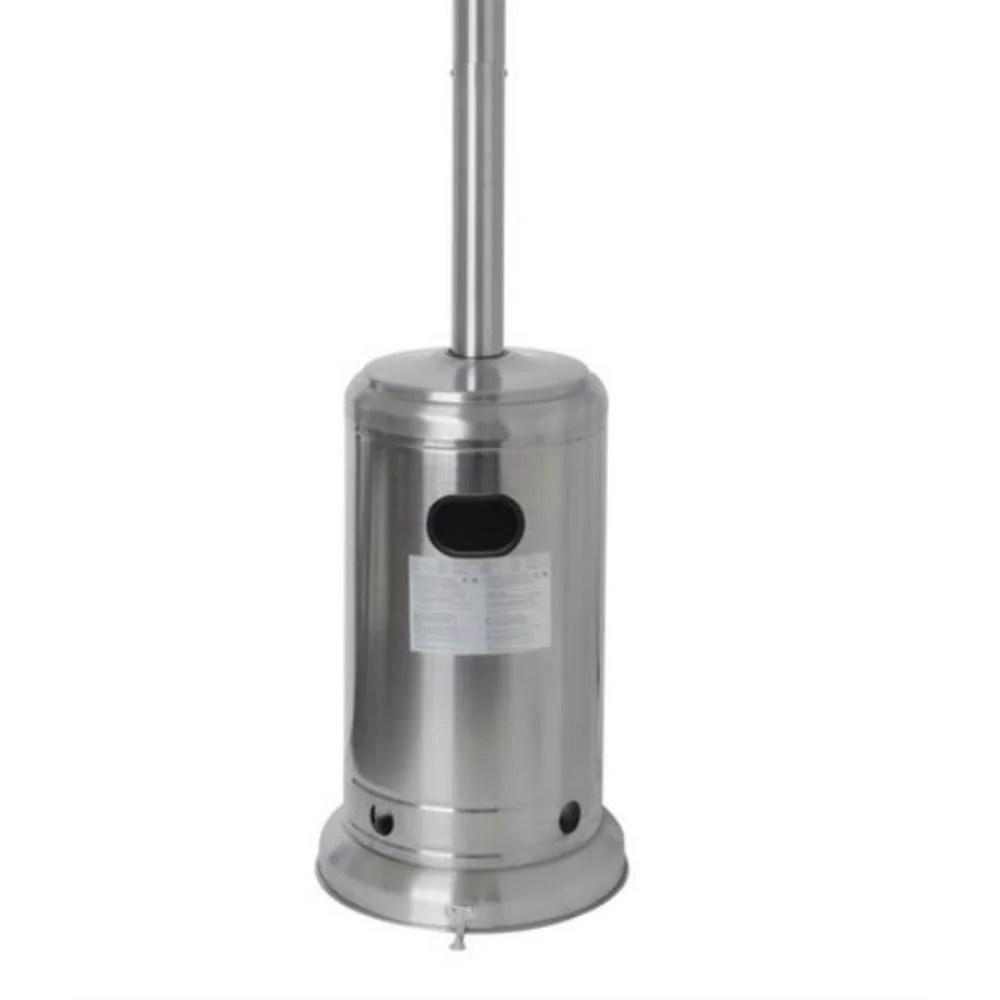 hampton bay 48000 btu stainless steel patio heater
