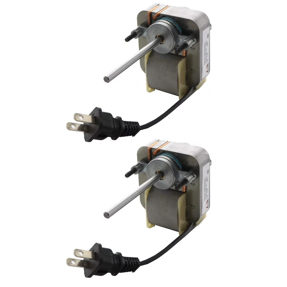 2 vent fan clockwise motor for broan 162 g bathroom exhaust bath heater s97010254