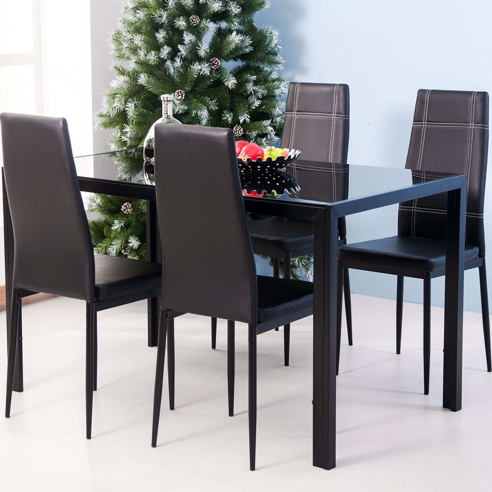 clearance kitchen dining table set 5 piece rectangular on dining room sets on clearance id=23106