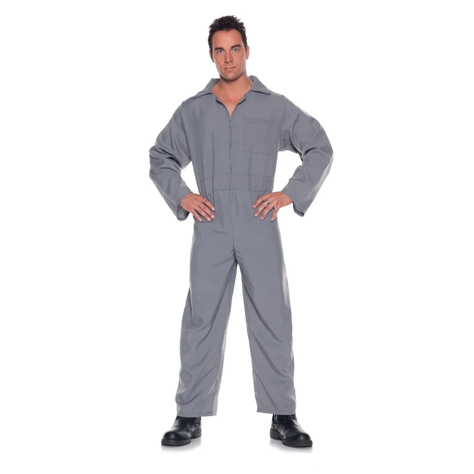 Adult Mens Jumpsuit Mechanic Costume Walmartcom