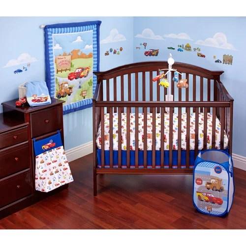 Disney Cars Radiator Springs 3 Piece Crib Bedding Set