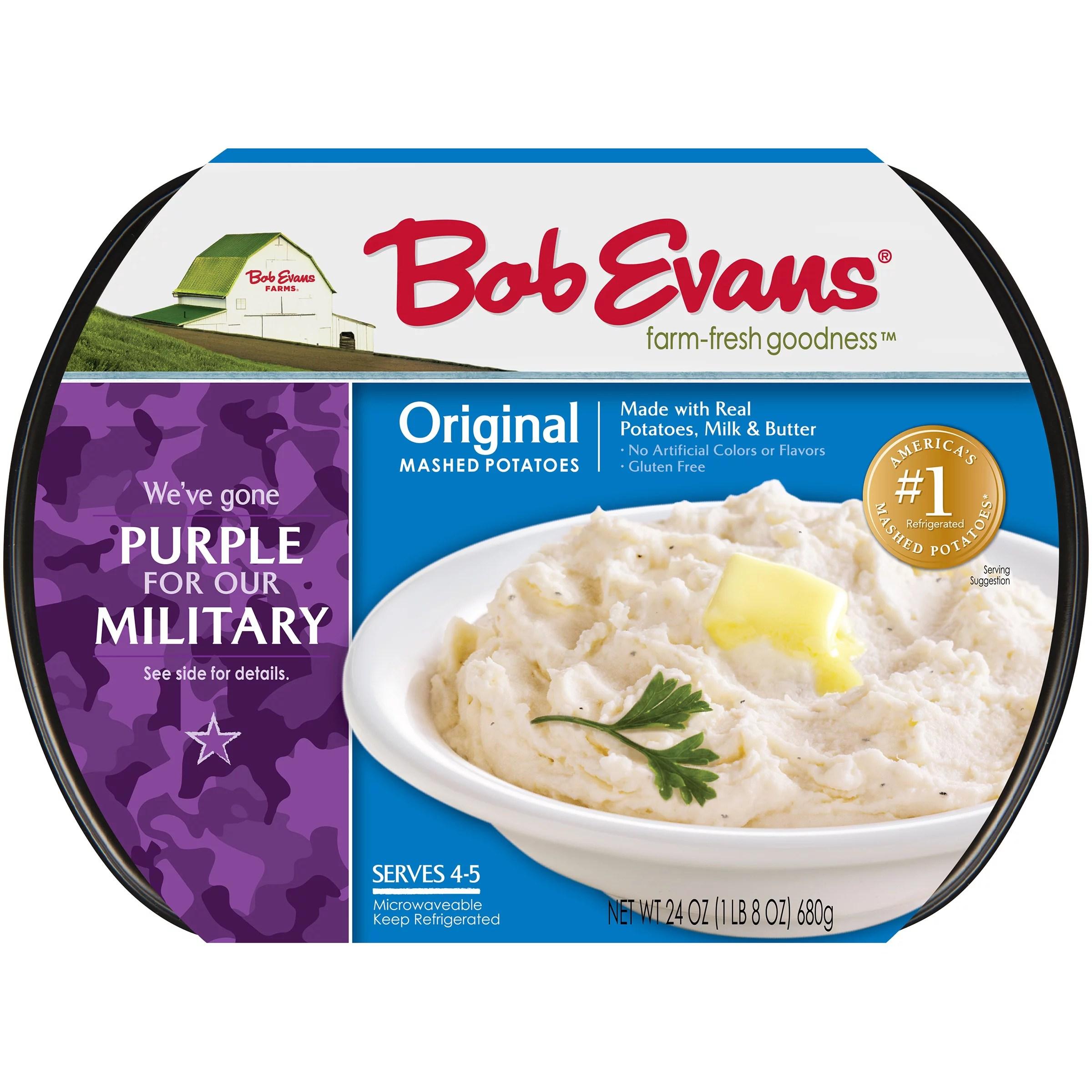 bob evans microwave mashed potatoes