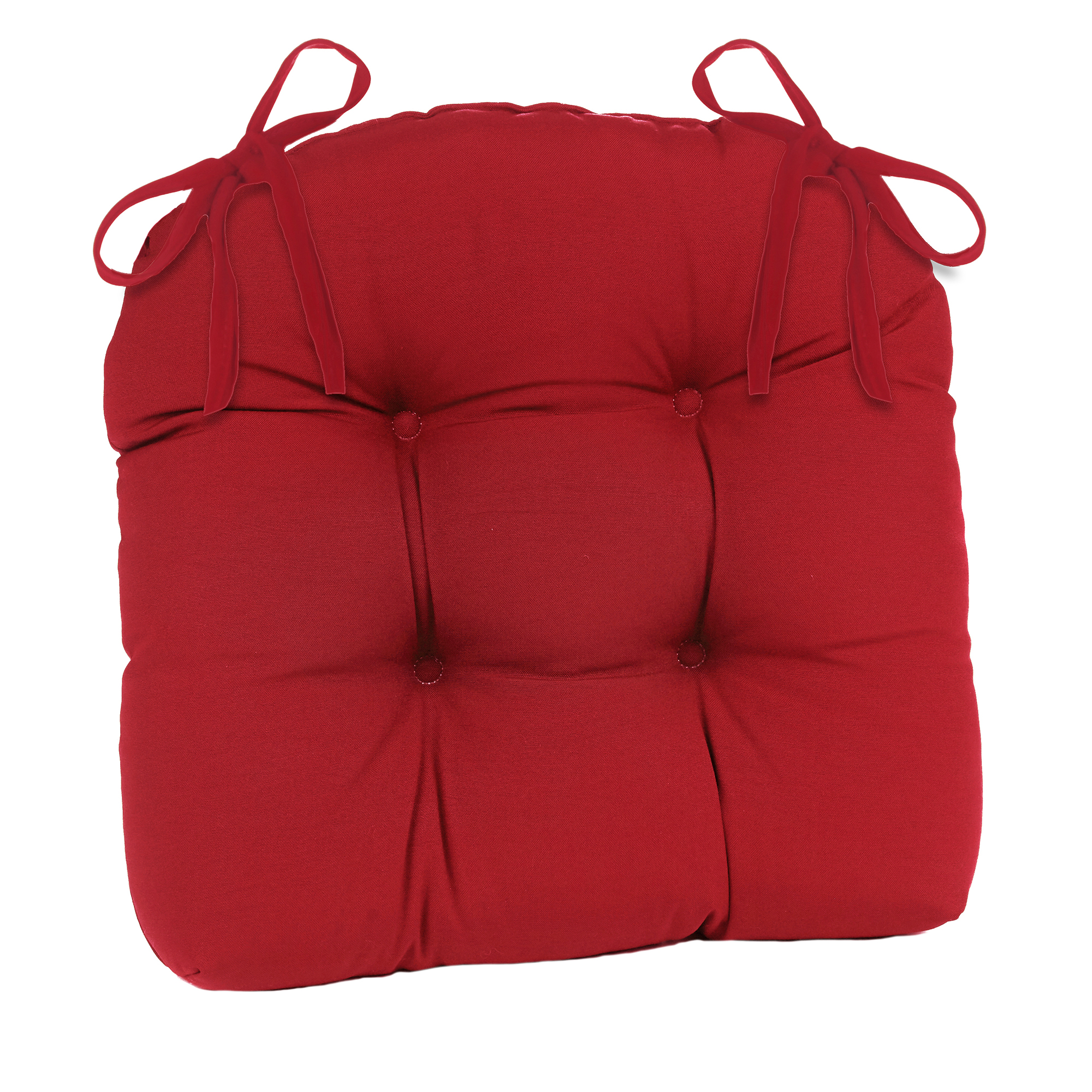 patio outdoor indoor red extra large chair cushion