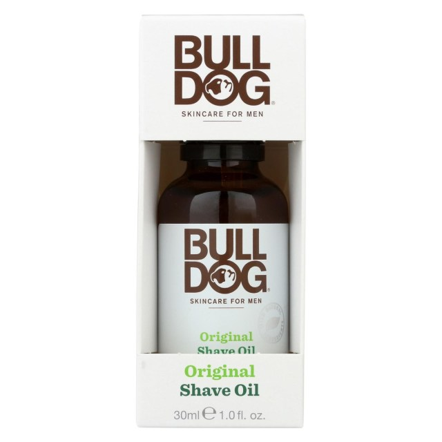 bulldog natural skincare shave oil - original - 1 fl oz