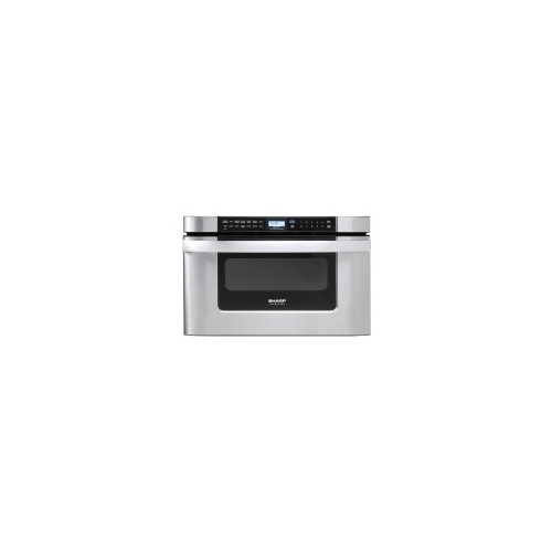 sharp kb6524ps 24 inch microwave drawer oven stainless steel