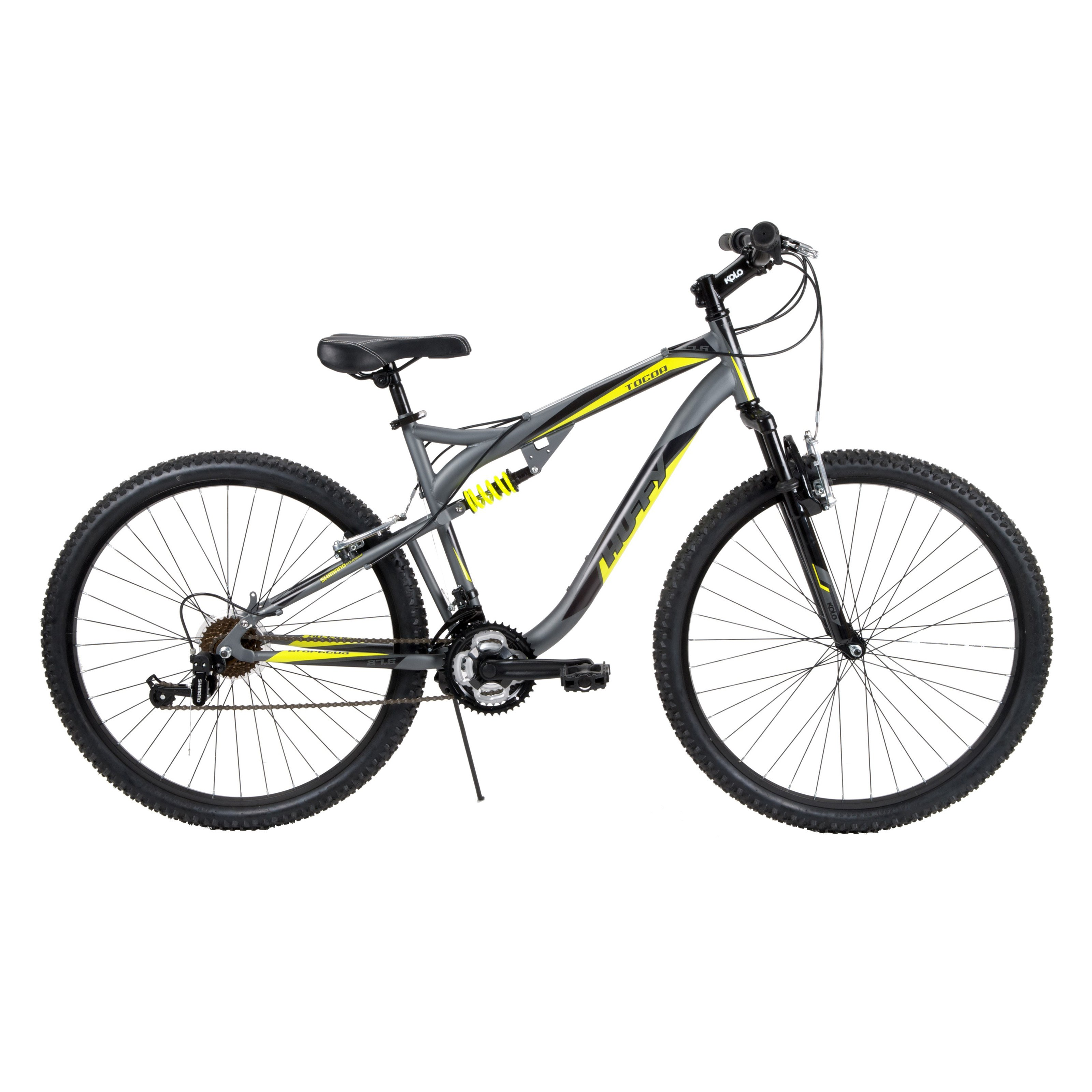 Huffy 27 5 In Tocoa Mens Dual Suspension Mountain Bike