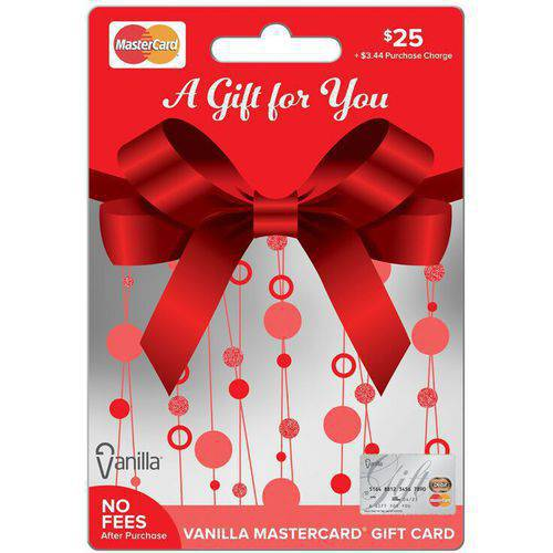 MasterCard 25 Gift Card
