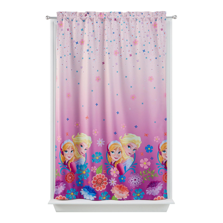 disney frozen kids lights off room darkening curtain panel 63 inch l walmart com