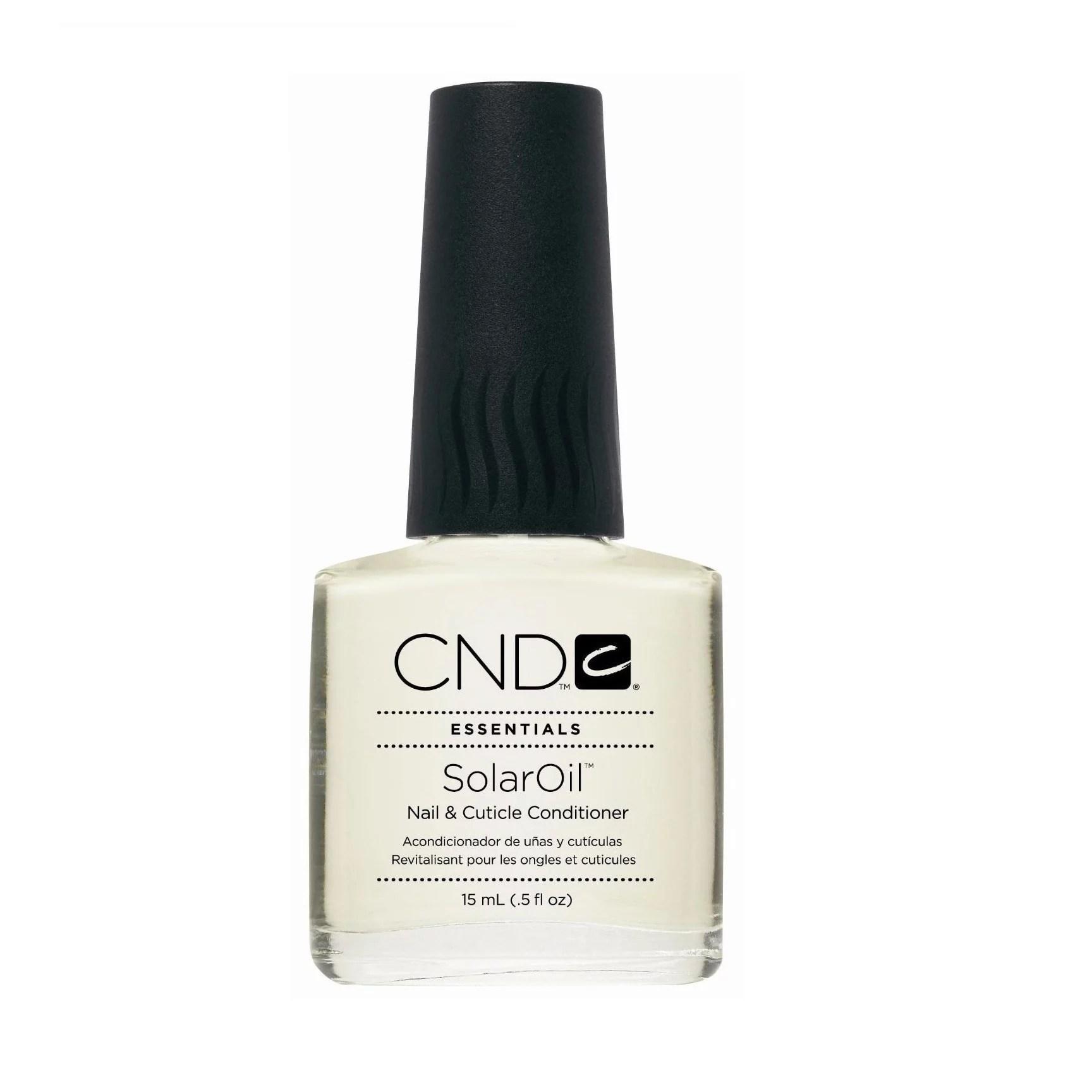 CND Essentials Nail & Cuticle Conditioner, SolarOil, 0.5 Oz