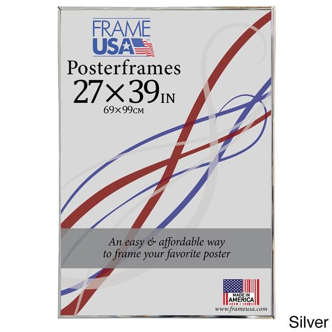 27x39 foamcore poster frame black