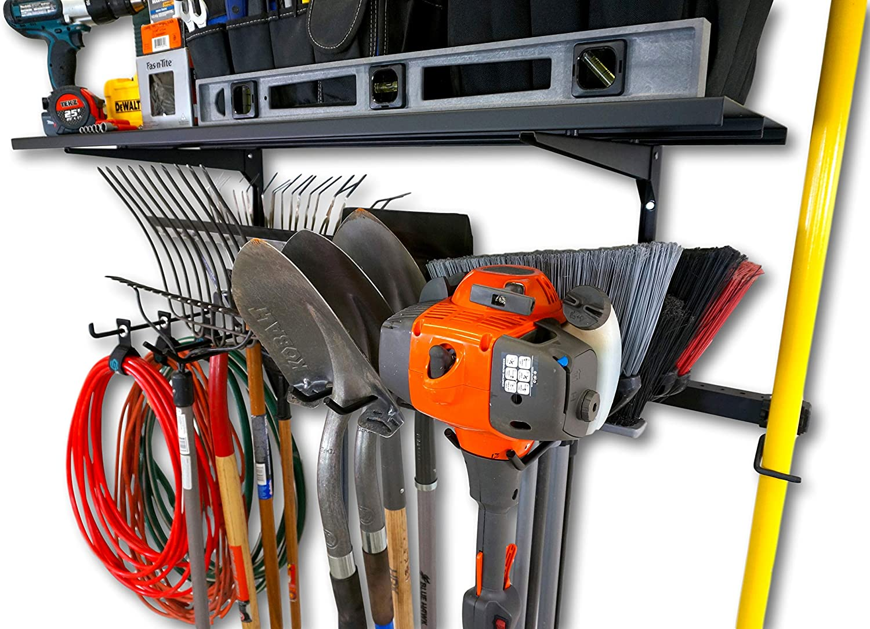 storage racks equipment organizer wall