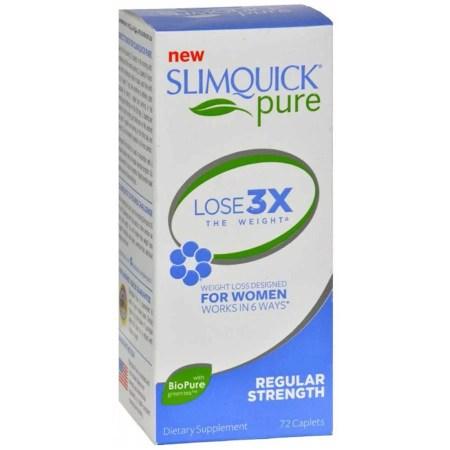 اشتريه SlimQuick Pure Fats Burner للنساء ، حبوب منع الحمل العادية لتخفيف الوزن ، 72 قيراط ab6e77fe 8a1c 4764 bc28 8782c85d0b94 1