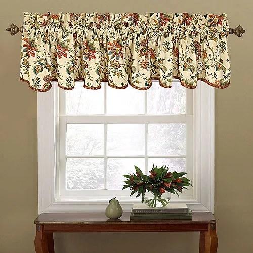 waverly felicite window curtain valance