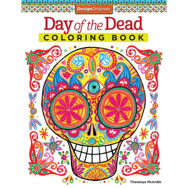 Coloring is Fun: Day of the Dead Coloring Book, Series No. 15 (Paperback)