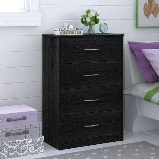Mainstays 4 Drawer Dresser Multiple Finishes Walmart