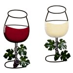 Wine Glass Wall Hanging Set Of 2 Walmart Com Walmart Com