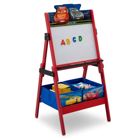 Disney Pixar Cars Activity Easel with Storage by Delta Children