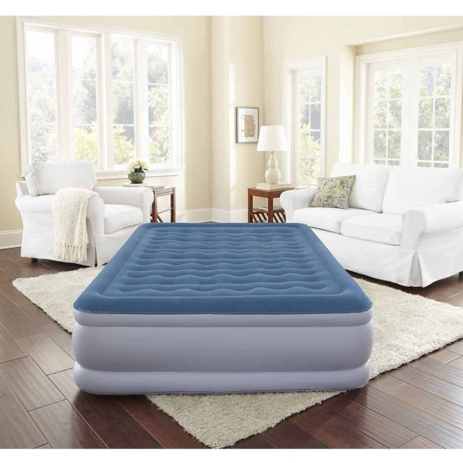 Simmons Beautyrest Extraordinaire Raised Air Bed Mattress With Iflex Support And Built In Pump Multiple Sizes