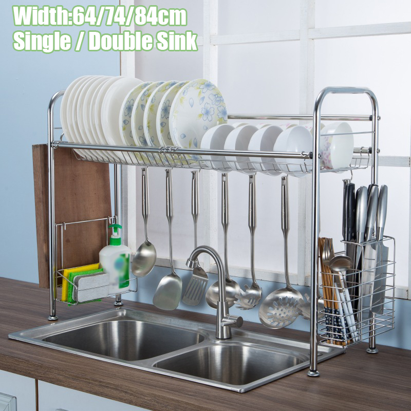 over the sink dish drain rack dishes drying shelf dish rack for single double sink dish rack for home kitchen