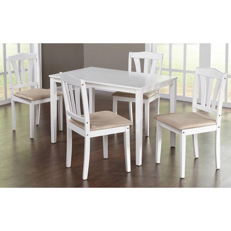 metropolitan 5-piece dining set, multiple colors - walmart