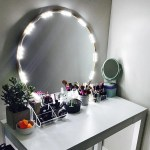 Lighted Mirror Led Light For Cosmetic Makeup Vanity Mirror Kit Walmart Com Walmart Com