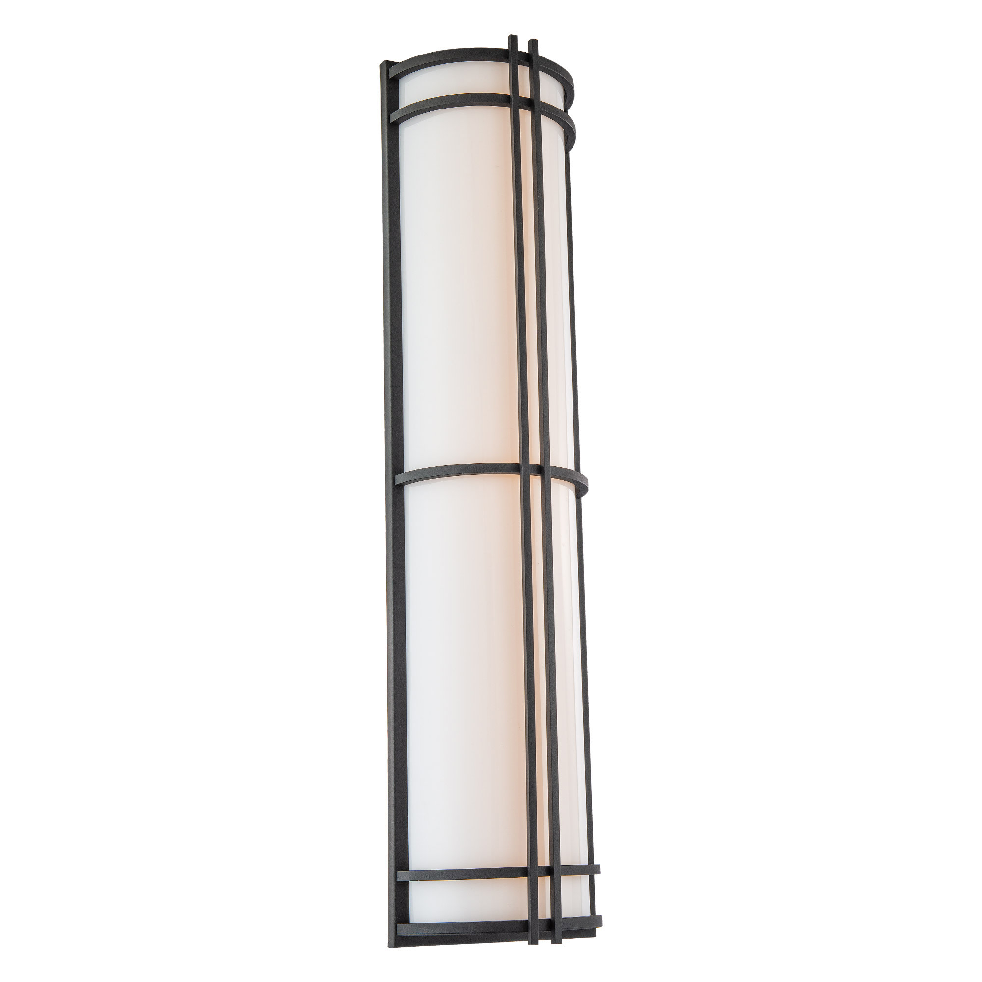 """Modern Forms Ws-W68627 Skyscraper 27"""" Tall Ada Led Outdoor ... on Modern Outdoor Wall Sconce id=26542"""