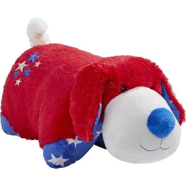 pillow pets americana dog 18 plush stuffed animal toy
