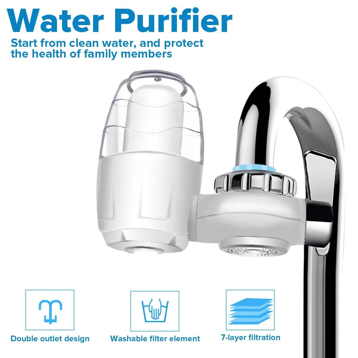augienb kitchen 7 layer filter tap water purifier water purifier system home faucet filter purifier