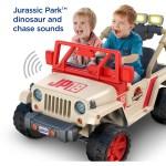 Power Wheels Jurassic Park Jeep Wrangler 12 V Ride On Walmart Com Walmart Com