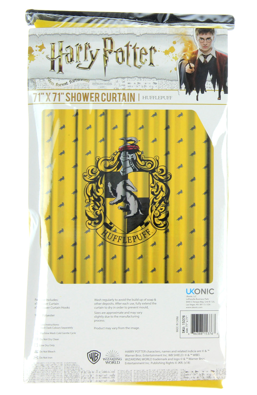 harry potter shower curtain hogwarts