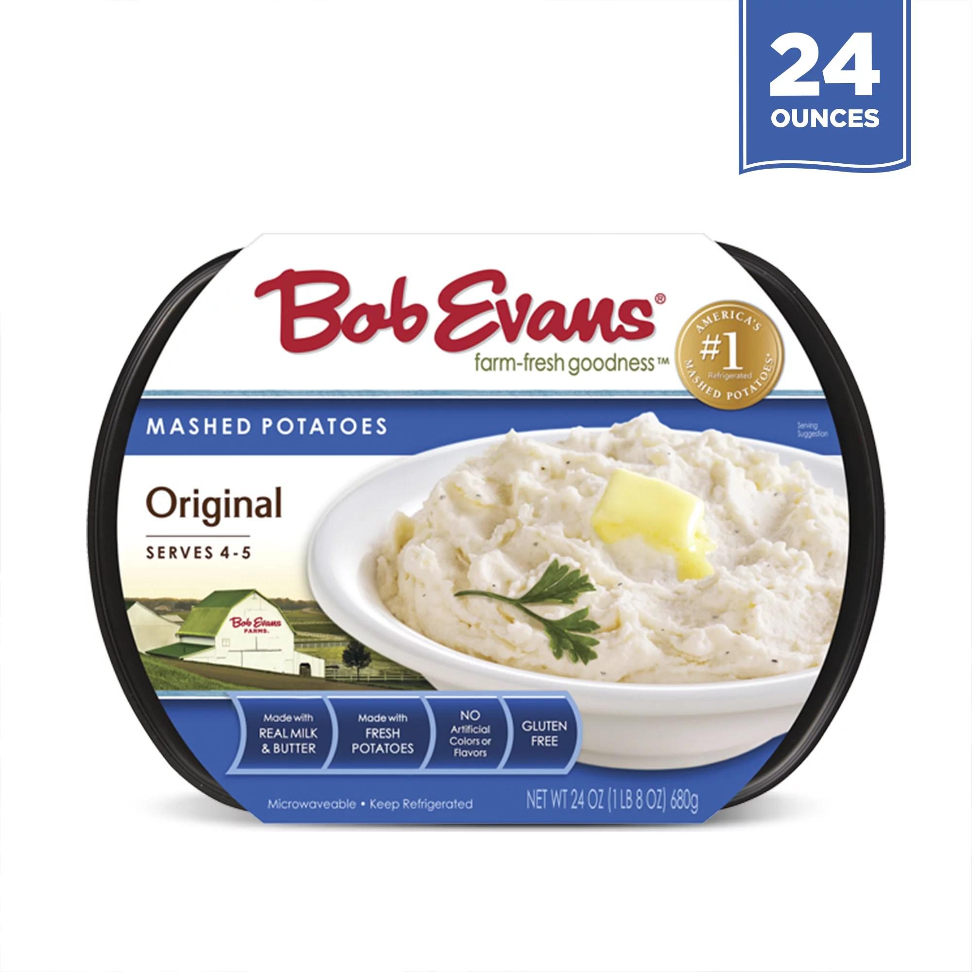 bob evans original mashed potatoes 24 oz pack of 1 walmart com