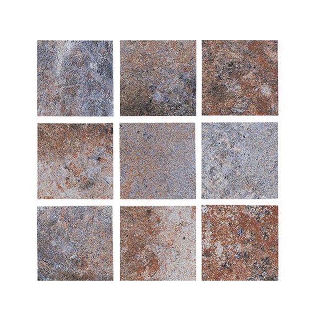 national pool tile tun multicolor2x2 10 sq ft 2 x 2 in tundra pool tile multi color walmart com