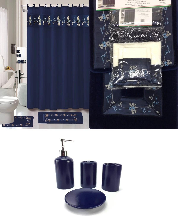 Blue Bath Set