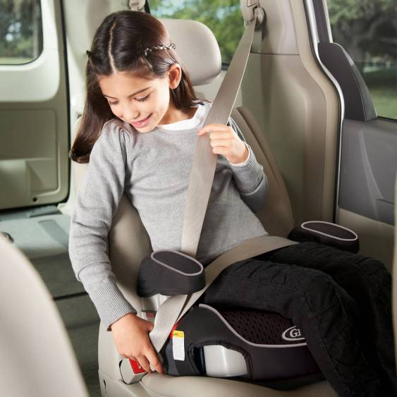 backless booster