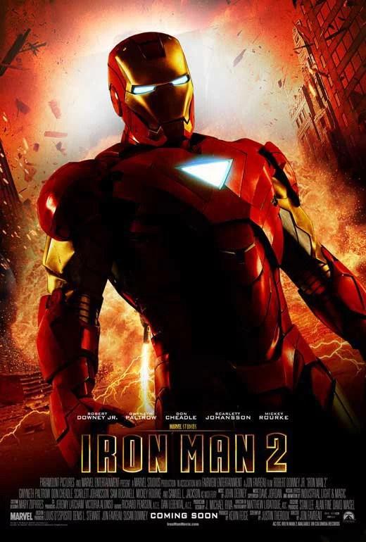 iron man 2 movie poster style al 11 x 17 2010