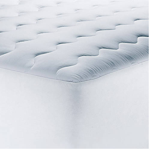 mainstays 200tc pillow top mattress pad in multiple sizes