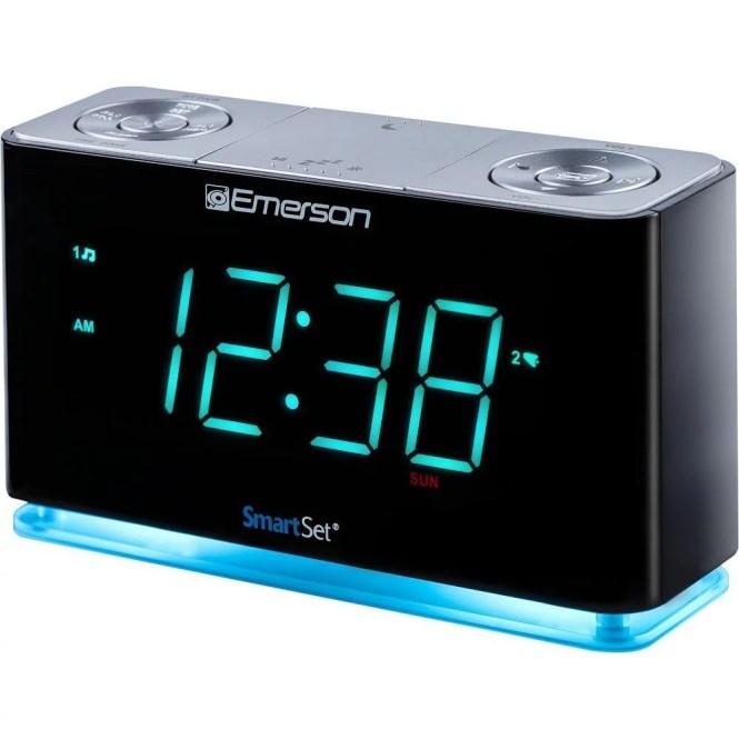 Bedside Alarm Clock Radio Emerson