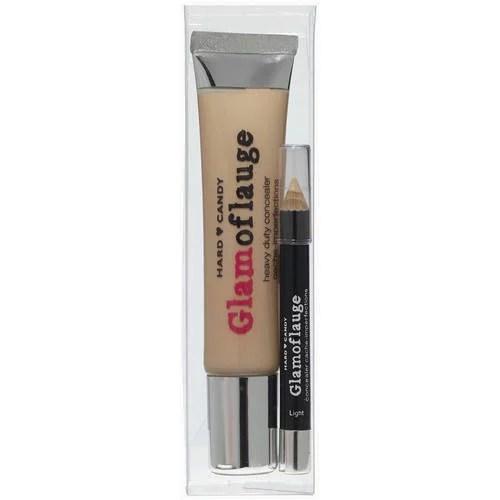 Hard Candy Glamoflauge Concealer with Concealer Pencil, Light Beige