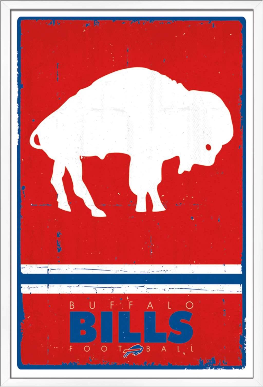 nfl buffalo bills retro logo poster walmart com