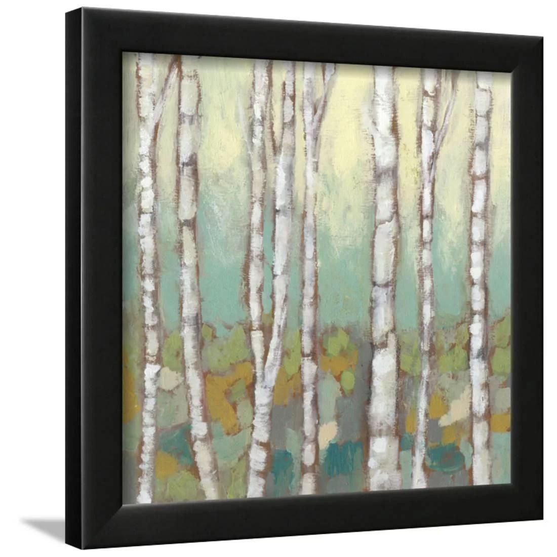 Kaleidoscope Birches I Framed Print Wall Art By Jennifer Goldberger