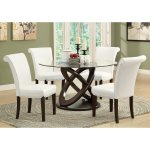 Reveal Secrets Dining Room Sets With Glass Table Tops 50
