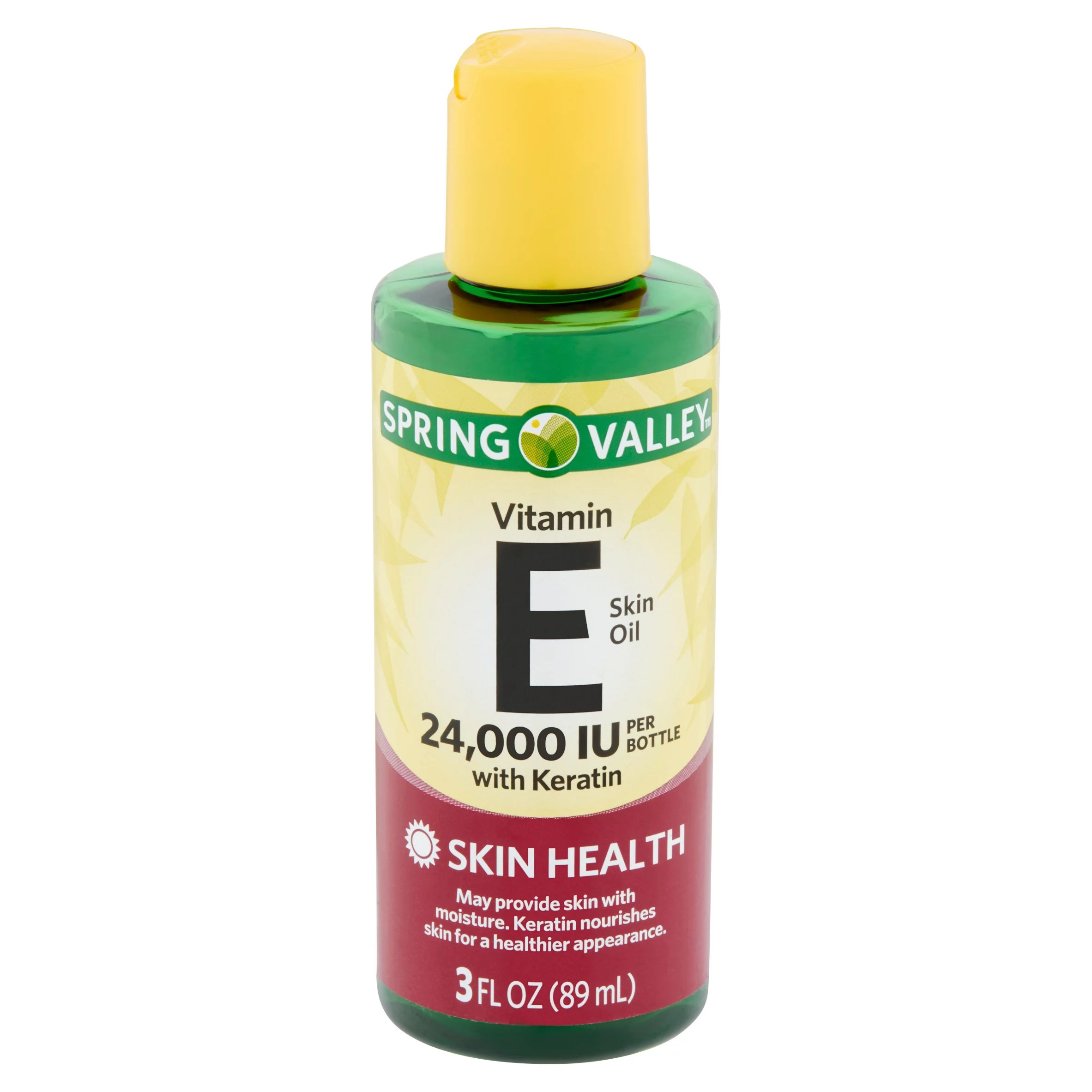 Spring Valley Vitamin E Skin Oil with Keratin, 24,000 IU, 3 fl oz