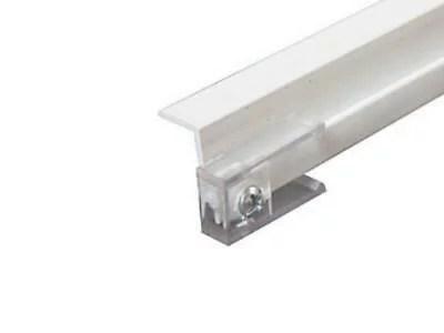 rv designer a201 glide curtain ceiling track white 45