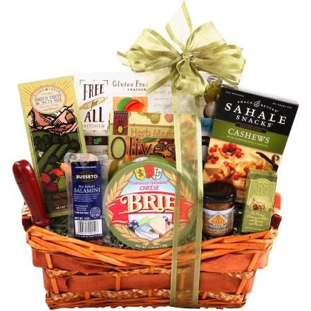 Gluten Free Gifts 8 Alder Creek Gluten Free Gift Basket, 9 pc