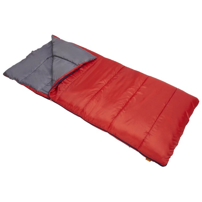 Ozark Trail 50 degree sleeping bag is a great bags for sleep overs or camping. Simply butterfly kisses