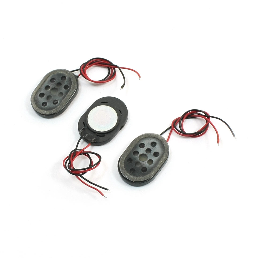 Unique Bargains 3pcs 1w 8 Ohm Phone Sounds Audio Magnet