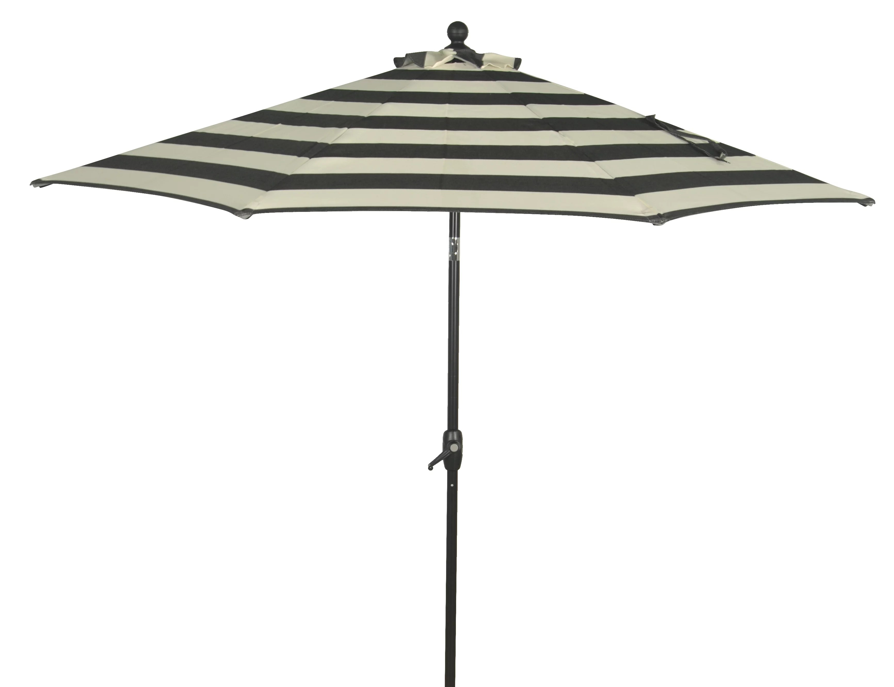 better homes gardens 9 outdoor market patio umbrella ibiza stripe