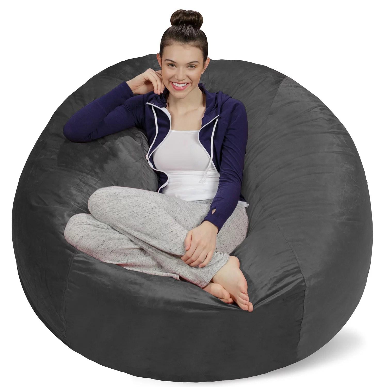 Sofa Sack Memory Foam Bean Bag Chair 5 Ft